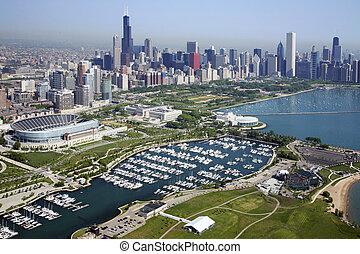 láthatár, chicago