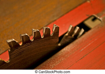 lâmina, serra, carbide