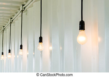lâmpada, elétrico