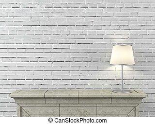 lâmpada, lareira