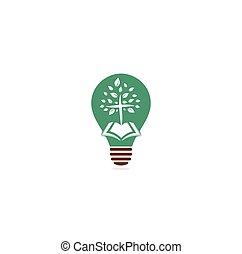 lâmpada, sinal., jesus, christ., deus