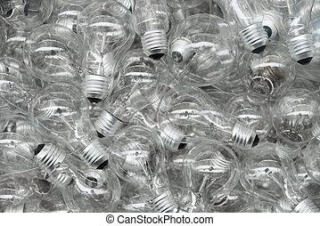 lâmpadas incandescentes, fundo