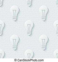 lâmpadas incandescentes, padrão