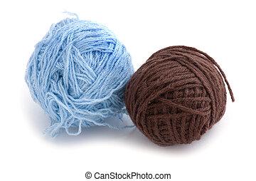lã, bola