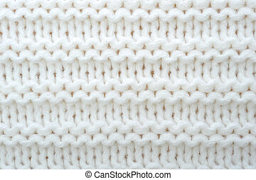 lã, suéter, textura