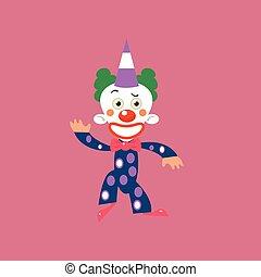 lächeln, gruß, clown