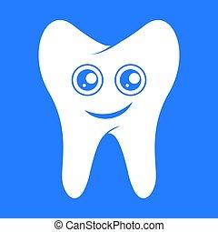 lächeln, zahn, dental