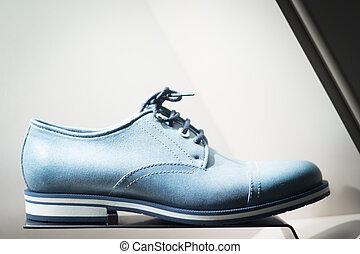 läder, Herrar, skor, lager, formell