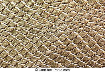 läder, struktur