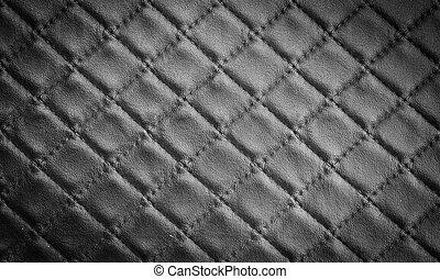 läder, texture.