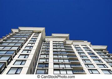 lägenhet, nymodig, specificera