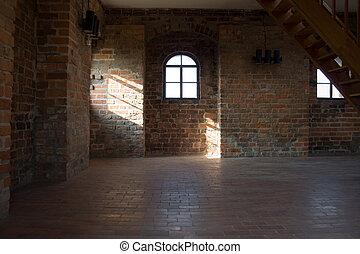 lägenhet, slott