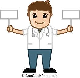 läkar läkare, baner, holdingen, två
