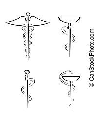 läkar symbol