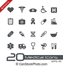 //, läkar väsentlighet, ikonen