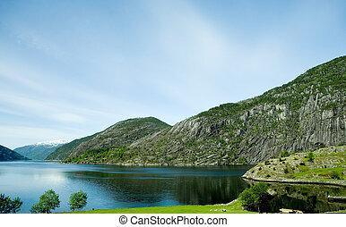 ländlich, norwegen