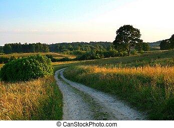 ländlicher weg