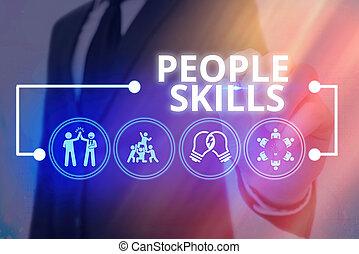 längs, väl, begrepp, skills., kommunikation, få, betydelse, ...