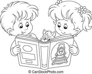 läsning, barn