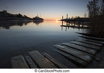 lätt,  harbour-1, morgon