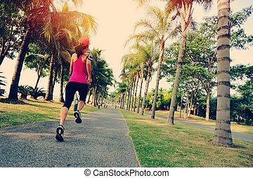 läufer, athlet, rennender