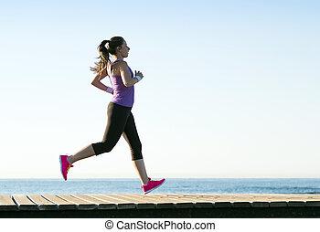 läufer, draußen