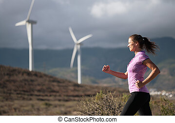 läufer, frauenlauf