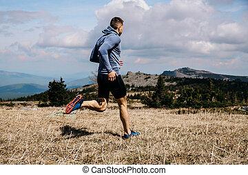 läufer, rennender , mann