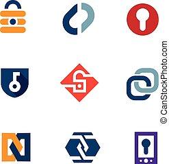 lås, garanti, internet, secure, hjem