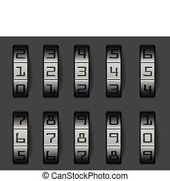 låsa, kombination