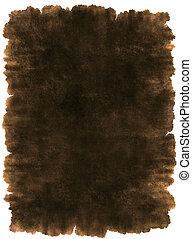 læder, ancient, pergament, baggrund, tekstur
