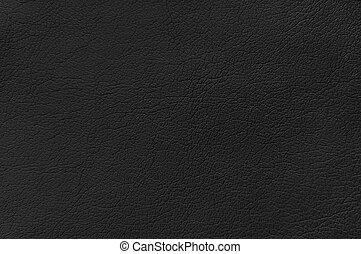læder, sort baggrund