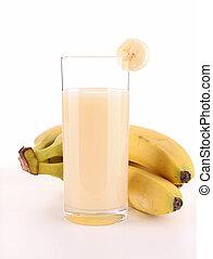 lé, elszigetelt, banán
