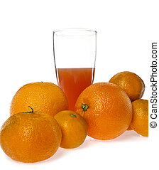 lé, narancsfák