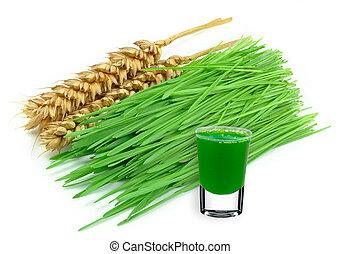 lé, wheatgrass
