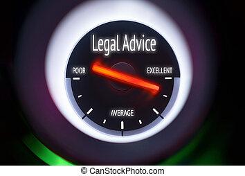 légal, conseil, concept