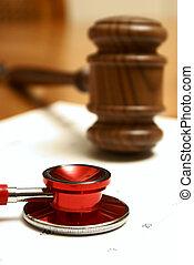 légal, et, monde médical