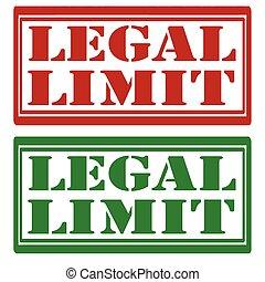 légal, limit-stamps