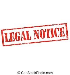 légal, notice-stamp