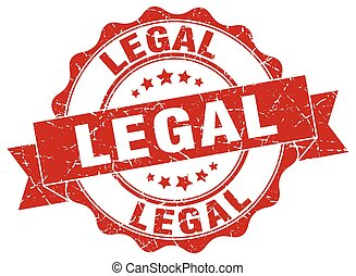 légal, stamp., signe., cachet