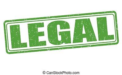 légal, timbre