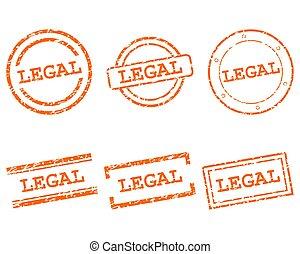 légal, timbres