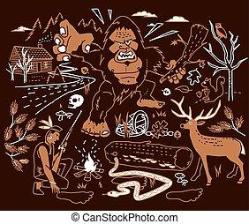 légende, bigfoot