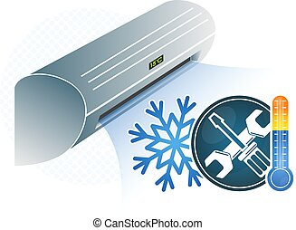 légkondicionálás, rendbehozás