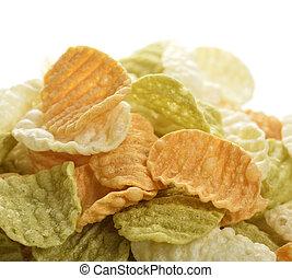 légume, chips