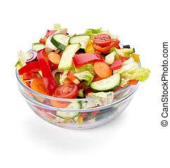 légume, nourriture, salade, régime