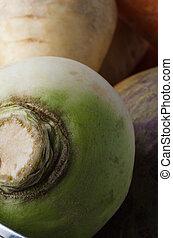 légumes crus, racine