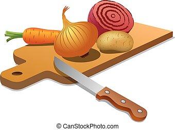 légumes, cuisine