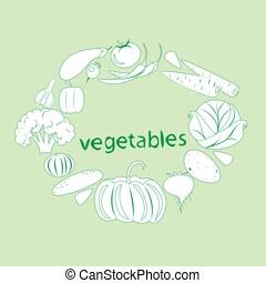 légumes, ensemble