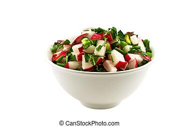 légumes frais, salade